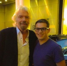 Adam James Whittaker Richard Branson