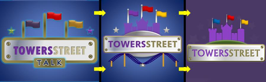 TowersStreet Logo Progression