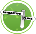 Attraction Place Logo